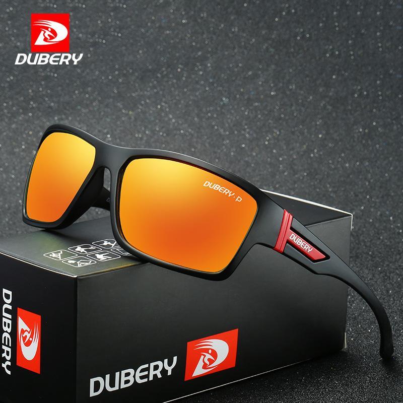 Dubery 2071 الرياضة ركوب الدراجات النظارات الشمسية المستقطبة الصيد في الهواء الطلق نظارات صامد للريح شمسية رجالية