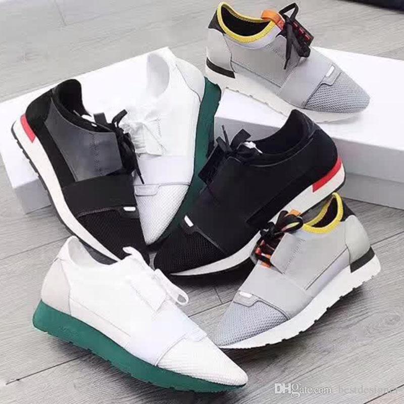 2020 مصمم رجالي الاحذية والجلود أحذية عارضة الشقق أحذية حقيقية اليدوية أبيض أسود أحمر أخضر النساء الرجال أحذية رياضية