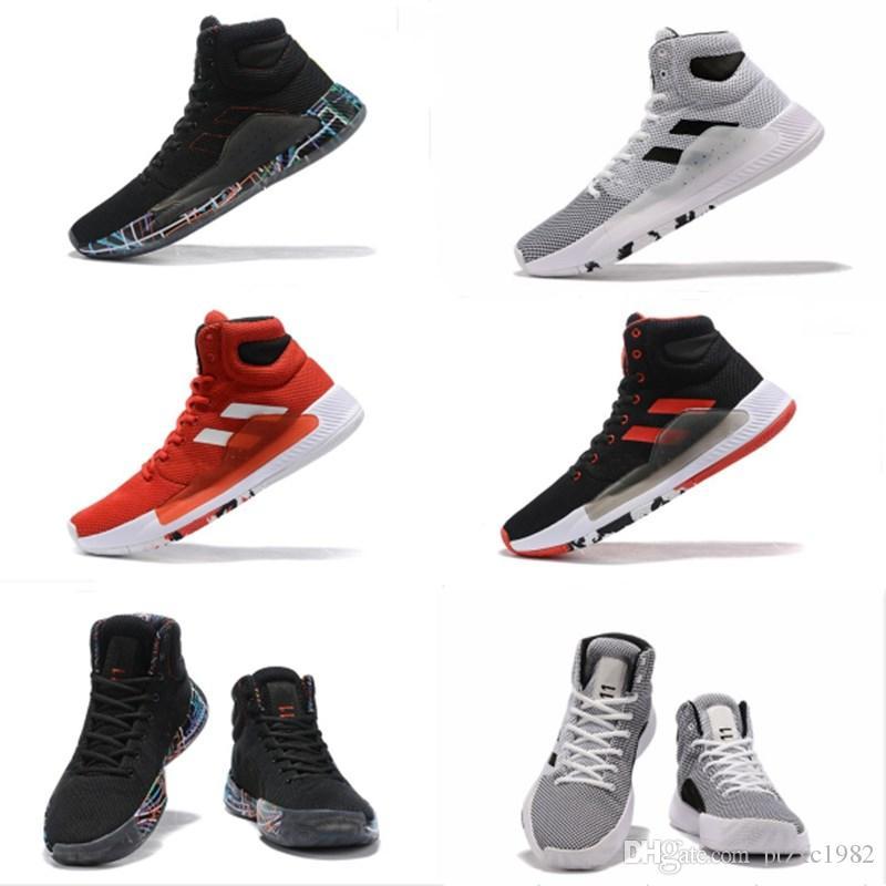 Novo 2019 Pro Bounce Basta Basquete Sapatos Para Boa Qualidade Multicolor Sapatos Marca Sneakers Esportes Homens Treinadores EUR 40-46