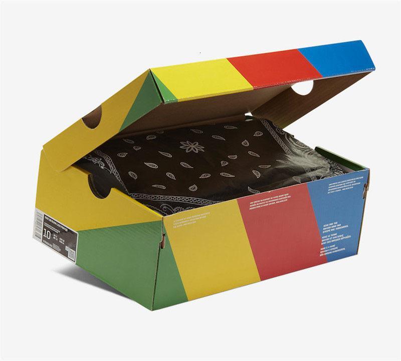 2020 Mejor auténtica Travis Scott x SB Dunk Low TS paracaídas Beige-Petra Brown-Negro Hombres Mujeres zapatillas de correr para deportes zapatillas de deporte con la caja