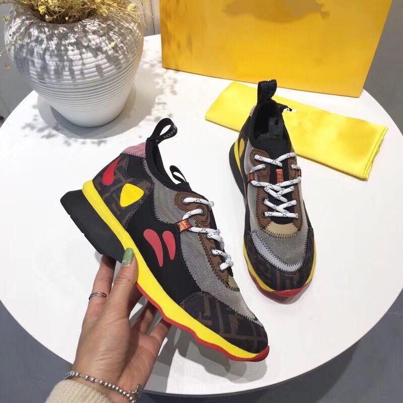 2019 новая кожаная пара мужчин и женщин дышащая сетка повседневная обувь Мода нескользящая цвет Тренд Ремень кроссовки mb889601