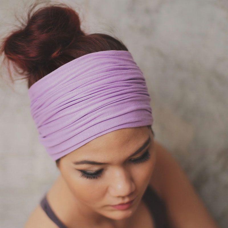 Acessórios de Moda Headband New Outono Outdoor Multifuncional Ciclismo Bandana Mulheres menina do cabelo Banda Headwear Sports Lenço