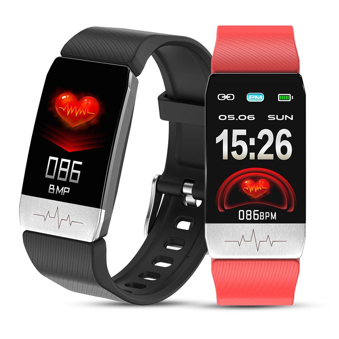 Smart Watch Bracelet Blood Pressure Measurement Fitness Bracelet Body Temperature Test Heart Rate Monitor Fitness Tracker