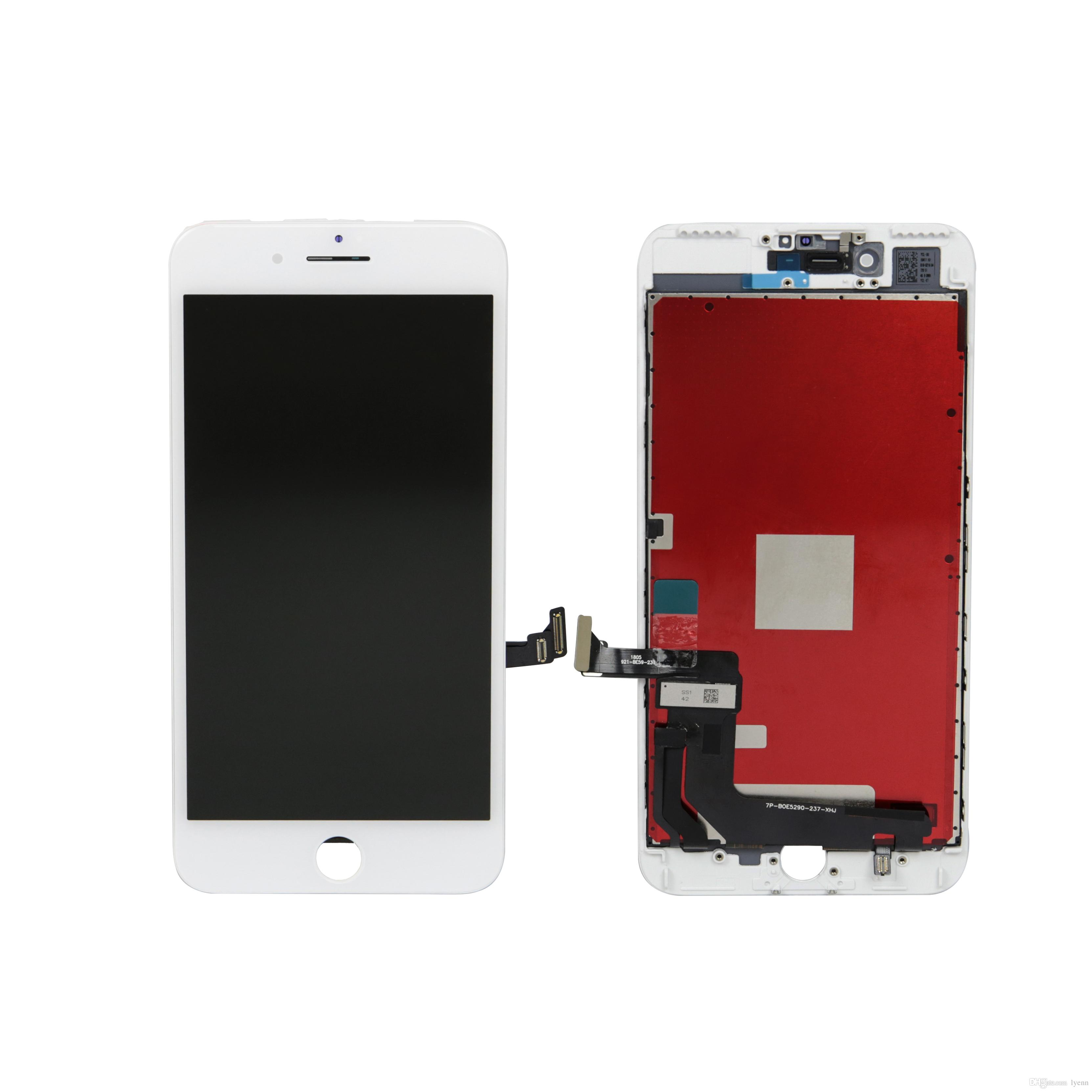 Better Brigtness Premium ESR LCD for iPhone 7 plus Full Sight Angle Grade LCD Display with Touch Screen Digitizer Assembly