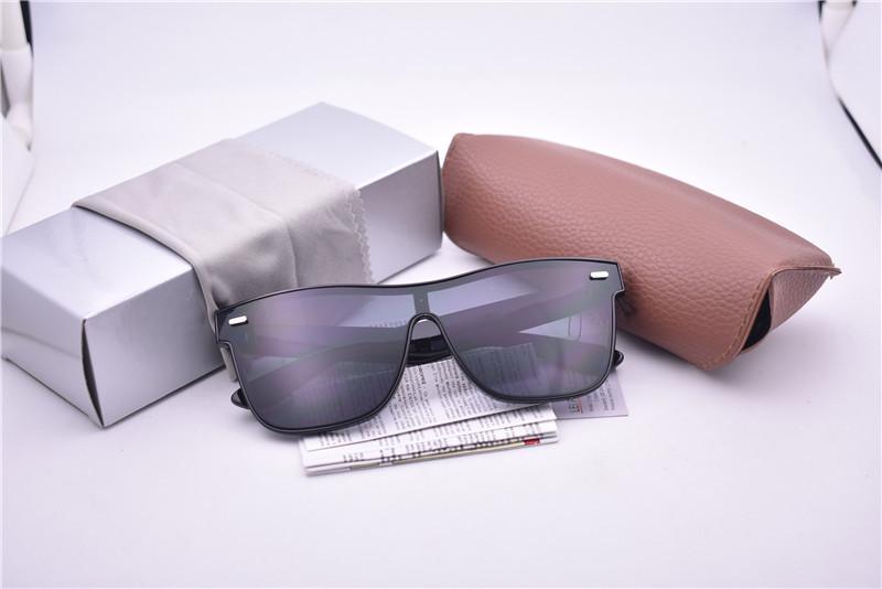 Wholesale-1 زوج مع حالة a + الجودة جديد التوربينات ماركة RAY4440 الأزياء شاطئ مكبرة في الرياضة نظارات شمسية شحن مجاني