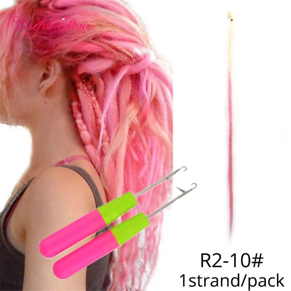 2020 Hair Ribbons Fake Dirty Braided African Dreads Small Dreadlocks Color Rope Connected With Gradient Headwear Synthetic Braiding Hair Handmade From Weavesclosure 1 34 Dhgate Com