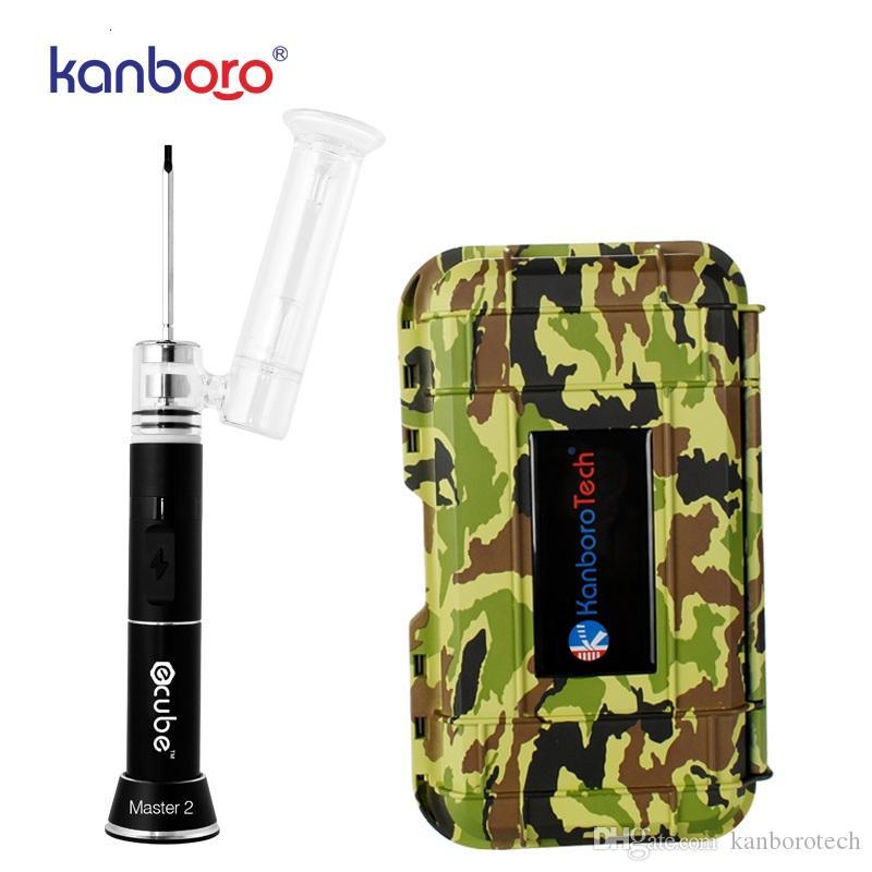 Wholesales usine plus récent forage dab Kanboro ECUBE, vaporisateur 18650 mod, cire tamponnant vaporisateur cire plate-forme e sur