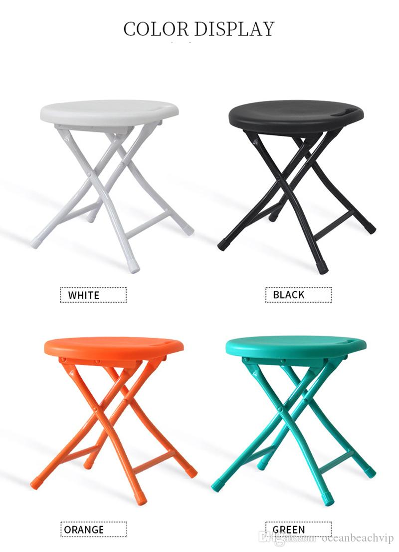 Remarkable Folding Stool Small Plastic Sitting Stool Metal Space Saving Furniture Cheap Lightweight Portable Small Round Folding Step Stool Fishin Cheap Outdoor Pabps2019 Chair Design Images Pabps2019Com