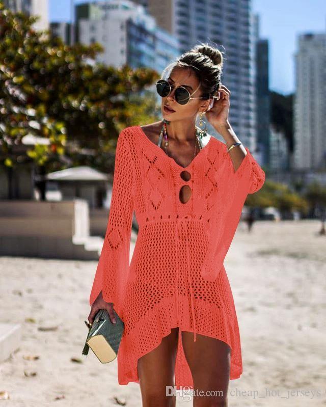 ألوان الصيف ساخنة جديدة الشيفون شال واقية من الشمس وبيكيني بيكيني البلوزات الليمون شاطئ السباحة الاخفاء أجل MXI