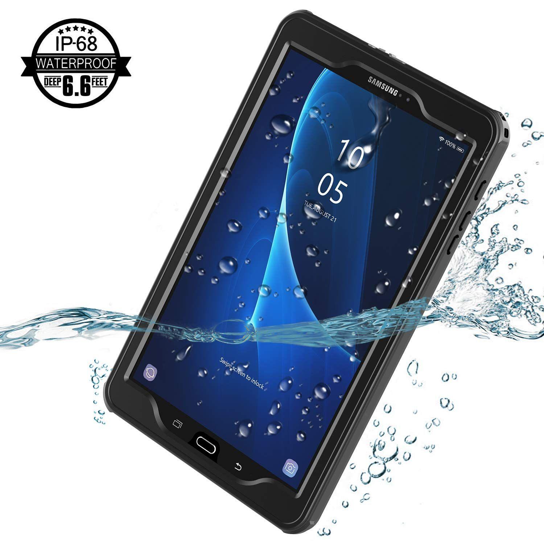 Acheter Pour Samsung Galaxy Taba 10.1 Cas Imperméable, IPX8 Étanche À Structure Imperméable À Leau Avec Protecteur Décran Intégré Pour Galaxy Taba ...