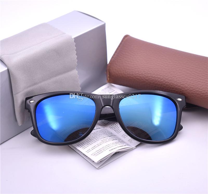 Review-Haute qualité Marque Designer Lunettes de soleil Protection UV Vintage Vintage lunettes de soleil polarzed pour hommes hommes Lunettes de vue rétro