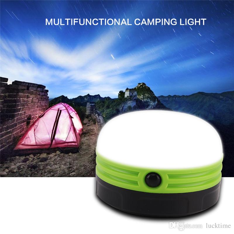 Hot Tent Light LED Camping Hiking Gear Equipment Outdoor Portable Ceiling Lamp Tent Torch Battery Operated Lantern Night Light Lamp