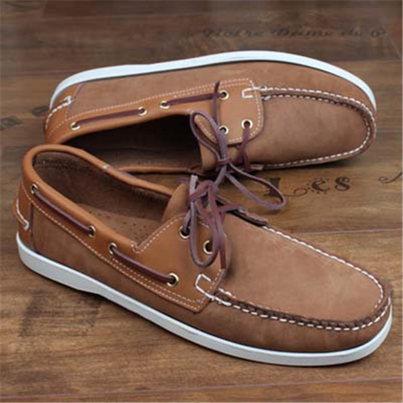 2020 Frühlings-Veloursleder-Mann-Schuhe Oxford beiläufige klassische Turnschuhe für Männer bequeme Schuhe Big Size 6 # 21 / 20D50