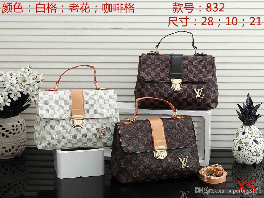 XS 832 el mejor precio de la alta calidad de las señoras de bolso de mano individual del bolso del totalizador del hombro mochila cartera