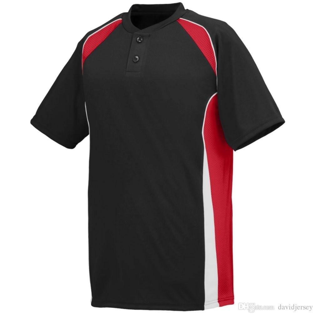 2019 Camo Özel Renk Yeni Erkekler Beyzbol Forması Genç Basit Düzgün Formalar Kimlik 000114 Ucuz