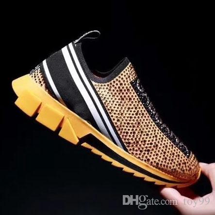 С Box Sneaker Обувь повседневная Кроссовки Модная спортивная обувь Кроссовки Обувь высочайшего качества для Мужчин и Женщин Бесплатно DHL by toy99 DD01 17-23