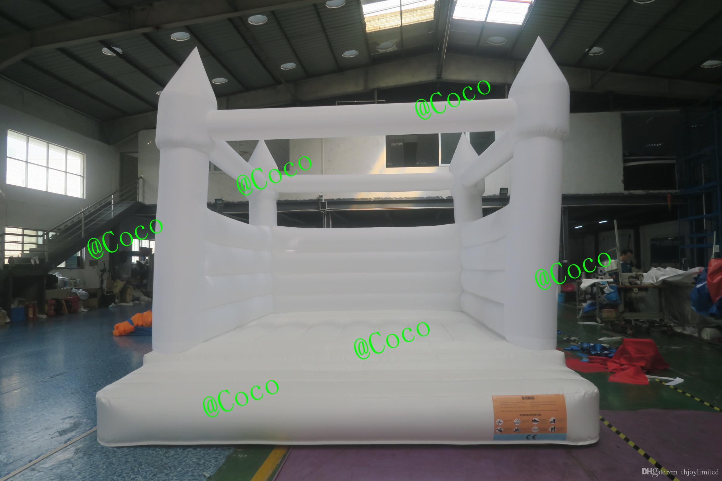 4x4m надувной свадебный вышигковый замок прыжки надувной домик на продажу