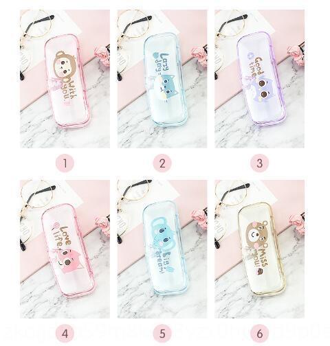 gelatina scatola di colore caso semplice cassa di vetro e bicchieri freschi scatola del fumetto