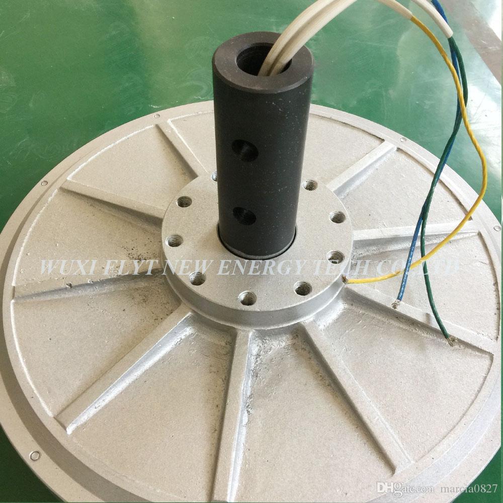 Generator1000w 48v Coreless ac Rare Earth Permanent Magnet Generator Low RPM 110/150/180/350rpm 1000w Maglev Generator