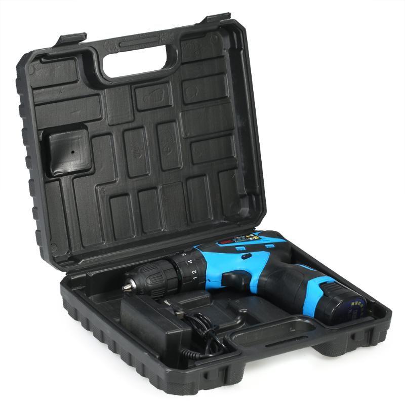16,8V de iones de litio herramientas eléctricas taladro eléctrico taladro de dos velocidades grabador eléctrico recargable sin cuerda Destornillador
