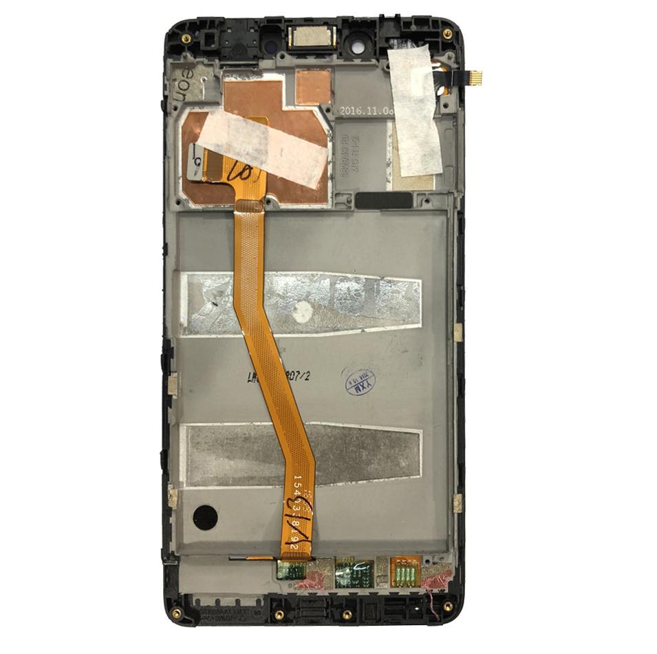 Qualité Lcd Pour Lenovo K6 Remarque LCD à écran tactile Digitizer remplacement pour Lenovo K6 REMARQUE Affichage k53a48 Assemblée LCD