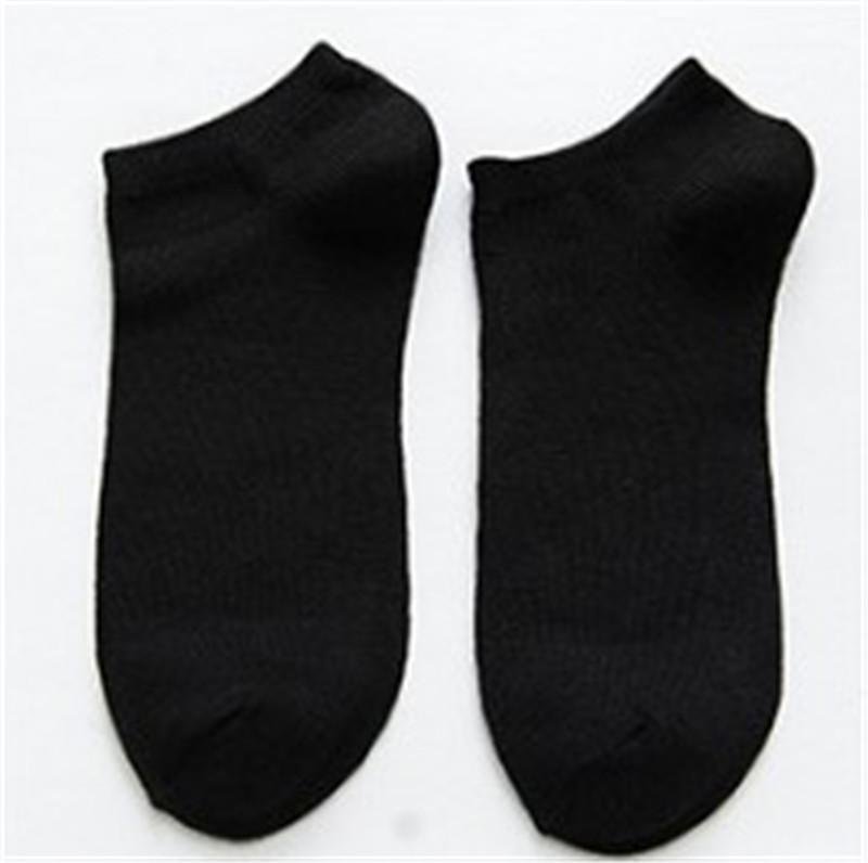 Sweat Absorption Ankle Socks Mens Designer Socks Mens Comfortable Casual Solid Color Socks Fashion Breathability and