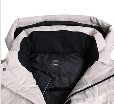 Venta al por mayor diseñador para hombre cazadora acolchada chaquetas marca al aire libre abrigo acolchado grueso de alta calidad color sólido casual moda Hotsale B100059L