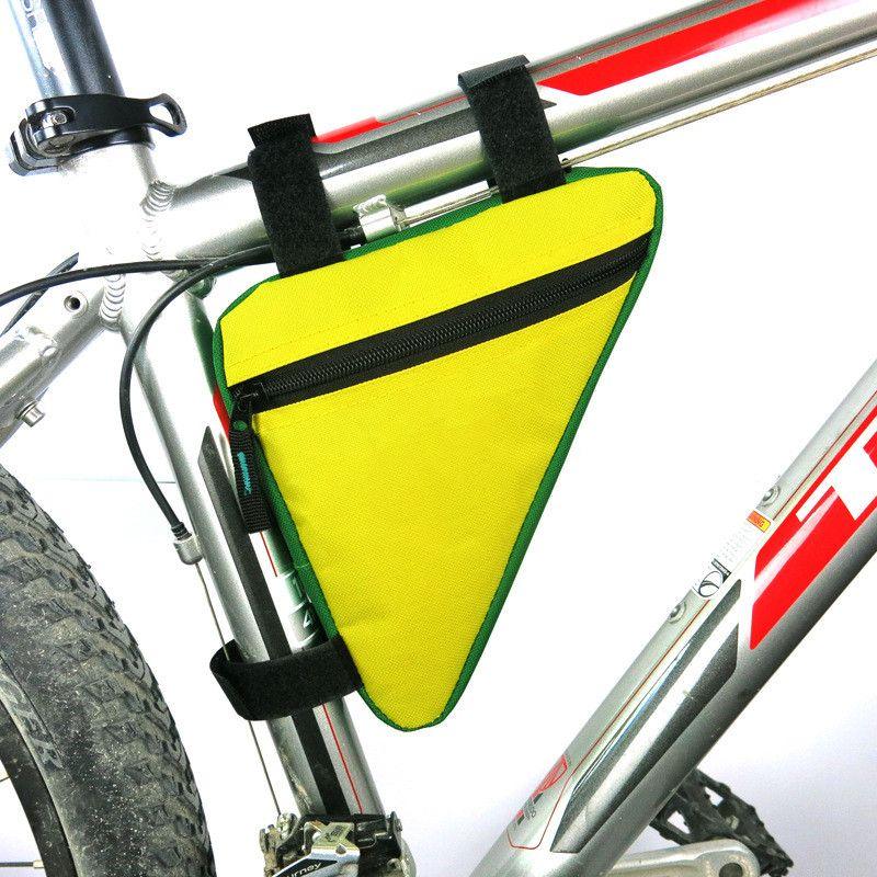 튜브 전면 가방 자전거 액세서리 무료 배송 무료 코드 자전거 산악 자전거 안장 가방 삼각형 가방