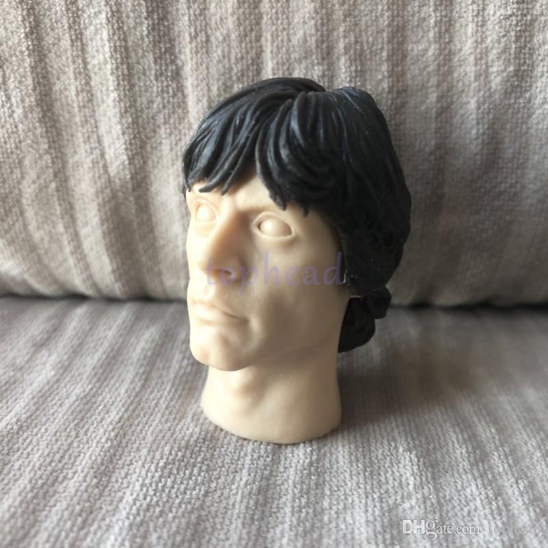 """Free Shipping 1//6 scale Custom blank Head sculpt Luke unpainted fit 12/"""" figure"""