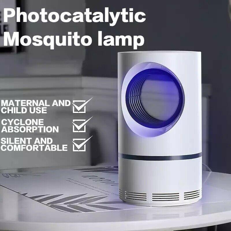 Elektrikli Sinek Bug jeneratörü Sivrisinek Böcek Öldürücü LED Işık Tuzak Pest Control Lambası