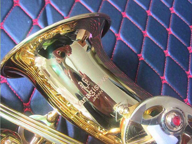 اليابان الجديد ياناجيساوا W01 E شقة ألتو ساكسفون عالية الجودة الآلات الموسيقية ياناجيساوا ألتو ساكس الناطقة بلسان المهنيه وحالة