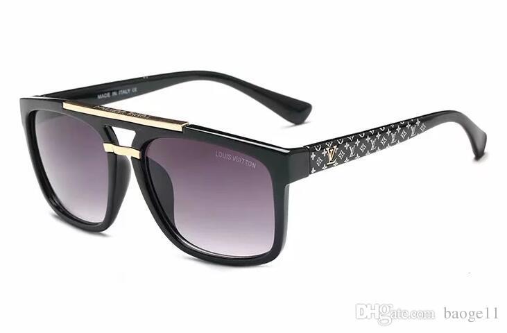 2019 Fashion star style ll fashion sunglasses gradient women's rimless sunglasses vintage big Frame frog Sun glasses free shipping
