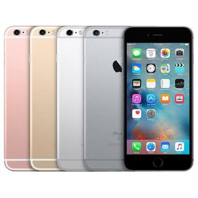 تم تجديده الأصل ابل اي فون 6S زائد 5.5 بوصة بصمة دائرة الرقابة الداخلية A9 2GB RAM 16GB 32GB 64GB 128GB ROM 12MP 4G الهاتف DHL 1PCS