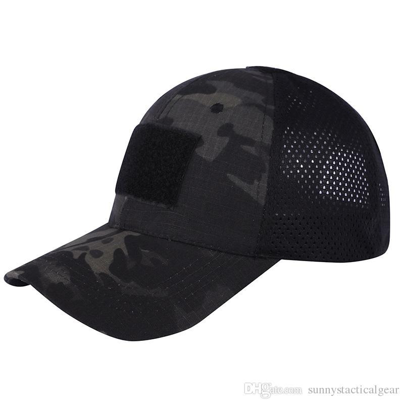 Esportes ao ar livre Camo Marinha Chapéu Fuzileiros Do Exército Tiro Combate Assalto Boné de Beisebol Cap Tático Camouflage SO07-011