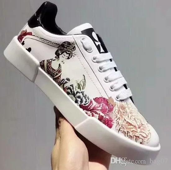 Avec Box Sneaker Casual chaussures formateurs Designer chaussures mode chaussures de sport meilleure qualité pour femme gratuit DHL par bag07 D2104
