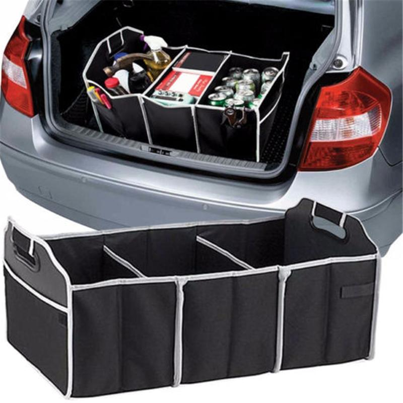 Storage For Cars >> 2019 New Folding Car Storage Box Trunk Bag Vehicle Toolbox Multi Use Tools Organizer The Bag In The Trunk Of Cars For Car Styling From Santia Price
