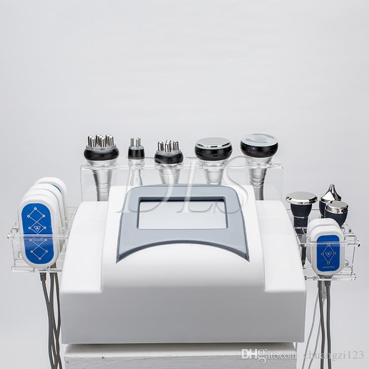 9 в 1 вакуумных частоте ультразвуковой липосакции кавитации похудения РФ радио вакуум кавитация кожа ужесточение машины для удаления целлюлита