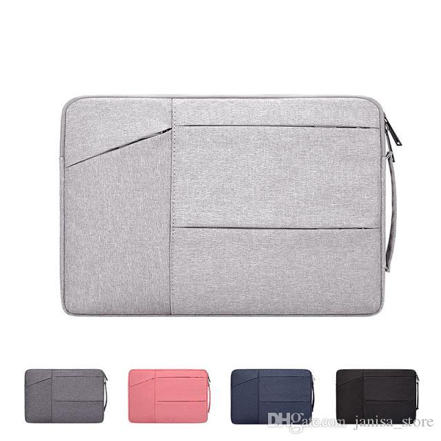 Polyester waterproof and lightweight laptop bag Notebook liner bag Suitable for Apple mac 15.6 inch Exhibition felt bag Custom LOGO