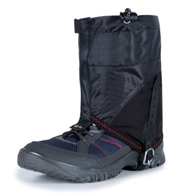 Unisexe Legging Gaiter jambe couverture imperméable sandproof jambe Protecteur neige coupe-vent Camping Randonnée Bottes Chaussures Covers jambes