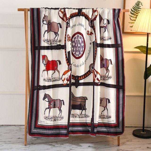 1PC Herbst-Winter-Serie Lamm Cashmere-Decke warme Decken Fleece super warm weiche Sofa-Bett-Abdeckung Rectangle Decke #a Werfen