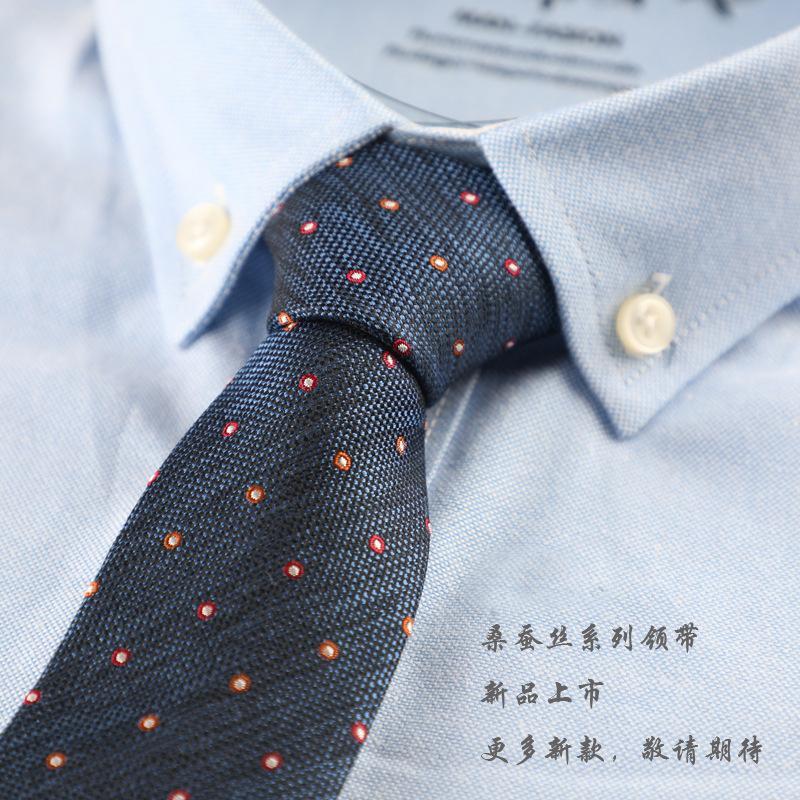 Шелковый галстук мужской деловой карьерный галстук 6см версия британской фабрики досуга оптовый шелковый галстук