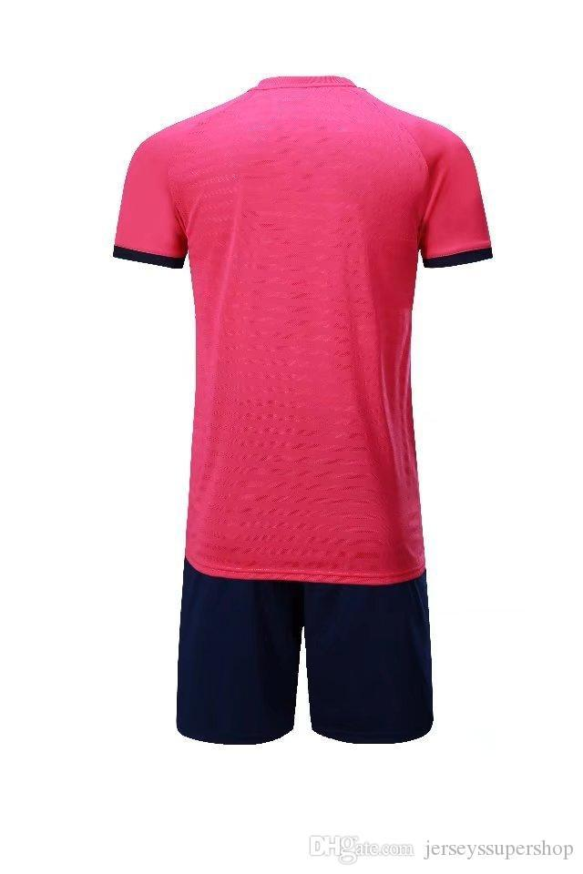 19 20 Rosa Lasten Männer Fußballjerseys heißen Verkaufs-Outdoor Bekleidung Fußball-Wear-Qualitäts-JUV Anzug