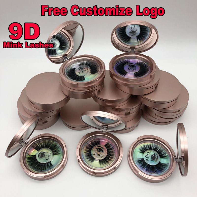 شعار 3D المنك الرموش الفردية رمش ملحقات 3D المنك جلدة الخاصة مخصص العين التغليف السوط صندوق الكاذبة المنك العين لاش حزمة صناديق