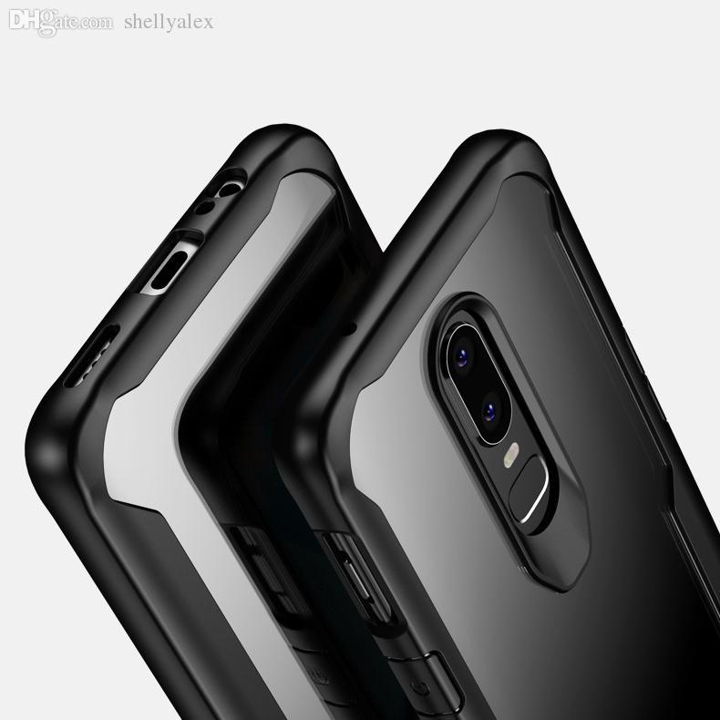 Прочный противоударный чехол для OPPO F9 Силиконовый тпу Акриловый 2in1 гибридный сотовый телефон чехол для OPPO F7 A3S Oneplus 5 6T