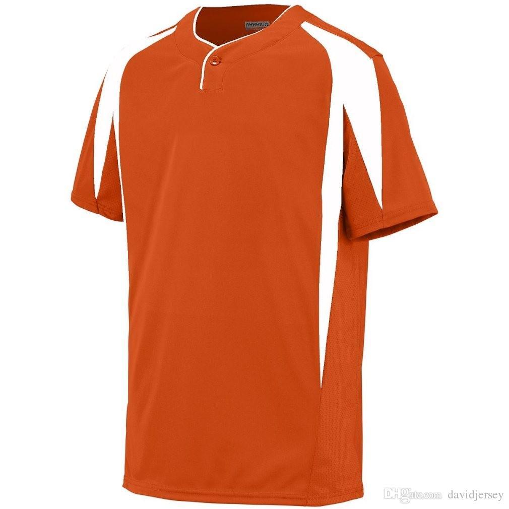 2019 Camo Özel Renk Yeni Erkekler Beyzbol Forması Genç Basit Düzgün Formalar Kimlik 000125 Ucuz