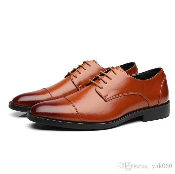 High End Men Oxford Shoes Business