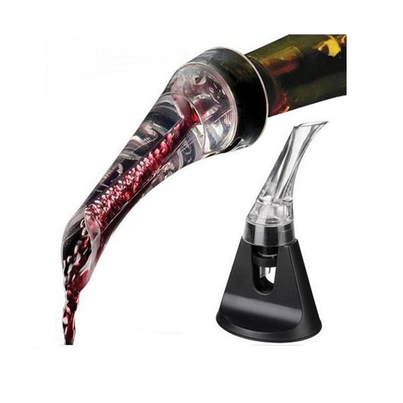 Rapide Carafe En Plastique Olécranon Magique Pour Verre Potable Ménage Hôtel Vins Rouges Grape Vin Pourer Nouvelle Arrivée 7 5wu L1