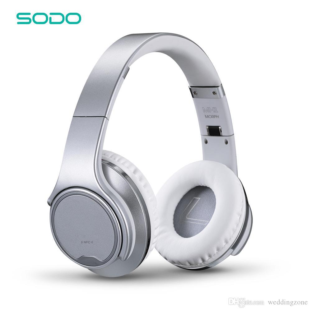 Original Sodo Mh1 Bluetooth Headphone Speaker 2 In 1 Twist Out Wireless Headset With Nfc Microphone For Huawei Samsung Iphone Best Noise Cancelling Headphones Wireless Headphones For Tv From Weddingzone 19 1 Dhgate Com