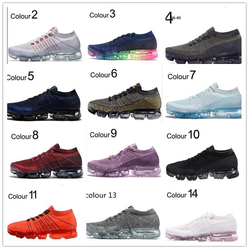 2018 nuovi arrivi uomini Shock Racer Tutte le scarpe bianco nero rosso grigio rosso di qualità superiore di modo casuale scarpe da corsa di sport della scarpa da tennis 36-45