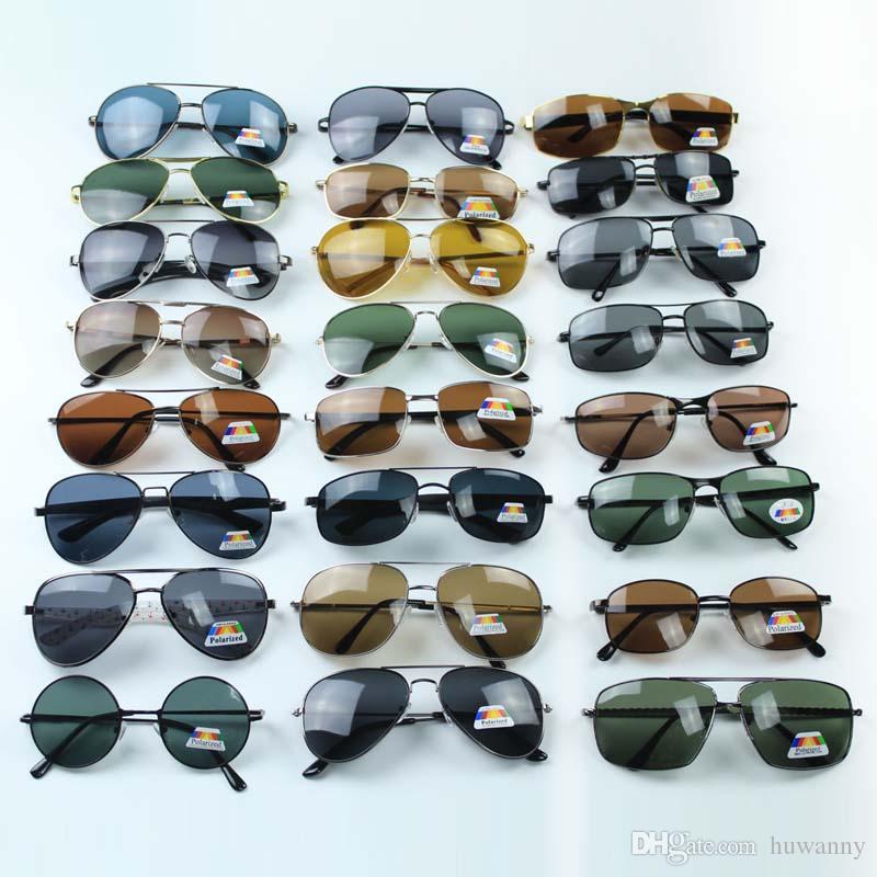 Hombres gafas de sol polarizadas para mujer Venta caliente UV400 Antirreflejo Anti vértigo Gafas de sol Gafas de sol Accesorios de moda al por mayor - 0028GLS
